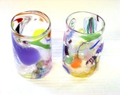 Hand Blown Glass Tumblers