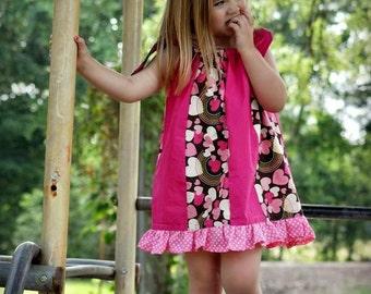 Pdf  Sewing Pattern Baby , Pdf Girls, INSTANT DOWNLOAD, Newborn to 8  Years, Pillowcase Dress Pattern