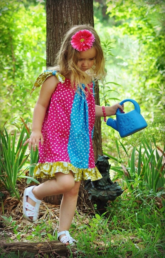 Sewing Pattern for Girls, Pdf Sewing Pattern, Newborn to 8  Years, Pillowcase Dress