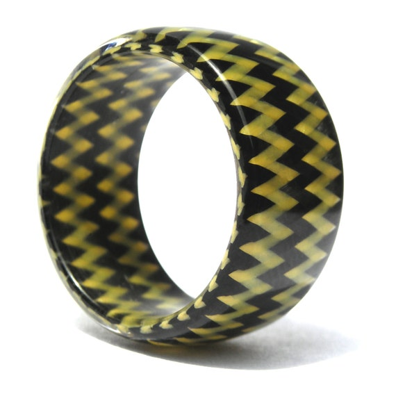 men39s carbon fiber and kevlar ring industrial black and With kevlar wedding ring