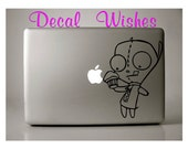 Macbook Gir's Cupcake Laptop Decal Removable Macbook Sticker