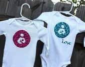 Breastfeeding Onesie, Appliqued Breastfeeding Onesie, Shirts Also, Nursing shirt, Natural Parenting. Love Breastfeeding, Cute Baby Onesie
