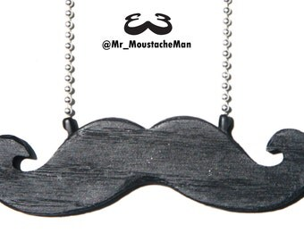 Emergency Moustache Necklace