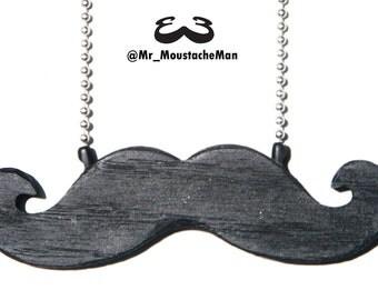 Emergency Moustache Necklace