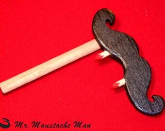 Vampire Emergency Moustache on a Stick