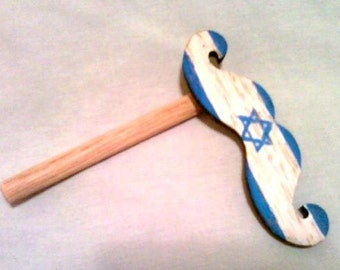 Emergency Moustache - Staches for Sderot