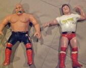 1980's WWF wrestling figures