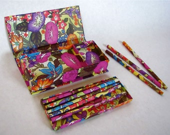 Vintage Pencil Box / Pencil Set