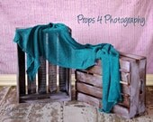 NEWBORN Photography Prop Crates.  Lilac on Dark Brown Stain