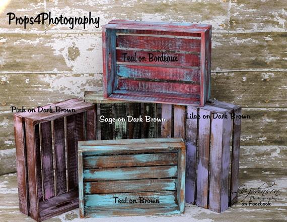 NEWBORN Photography Prop  -   Posing Crate