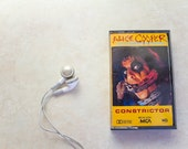 1986 Alice Cooper Constrictor - Theme from Friday the 13th pt 6 - Hard Rock Cassette Tape from the 80s