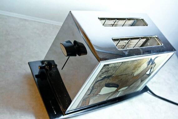Vintage ToastMaster African Gazelle Deco Toaster 2 slice