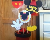 Custom listing for maddie 10 Mickey centerpieces