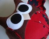Large Valentines Day Love Owl Plush