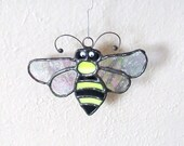 Stained Glass Bumble Bee