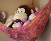 Knit Toy Hammock for Girls