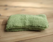 Celery Stretchy Knit Newborn Wrap