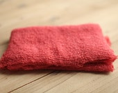 Coral Stretchy Knit Newborn Wrap