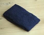 Navy Blue Stretchy Knit Newborn Wrap