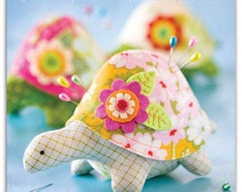 Pin Cushion Pattern Henrietta The Turtle Pattern Baby Toy or Pet Pattern, Mini Pattern