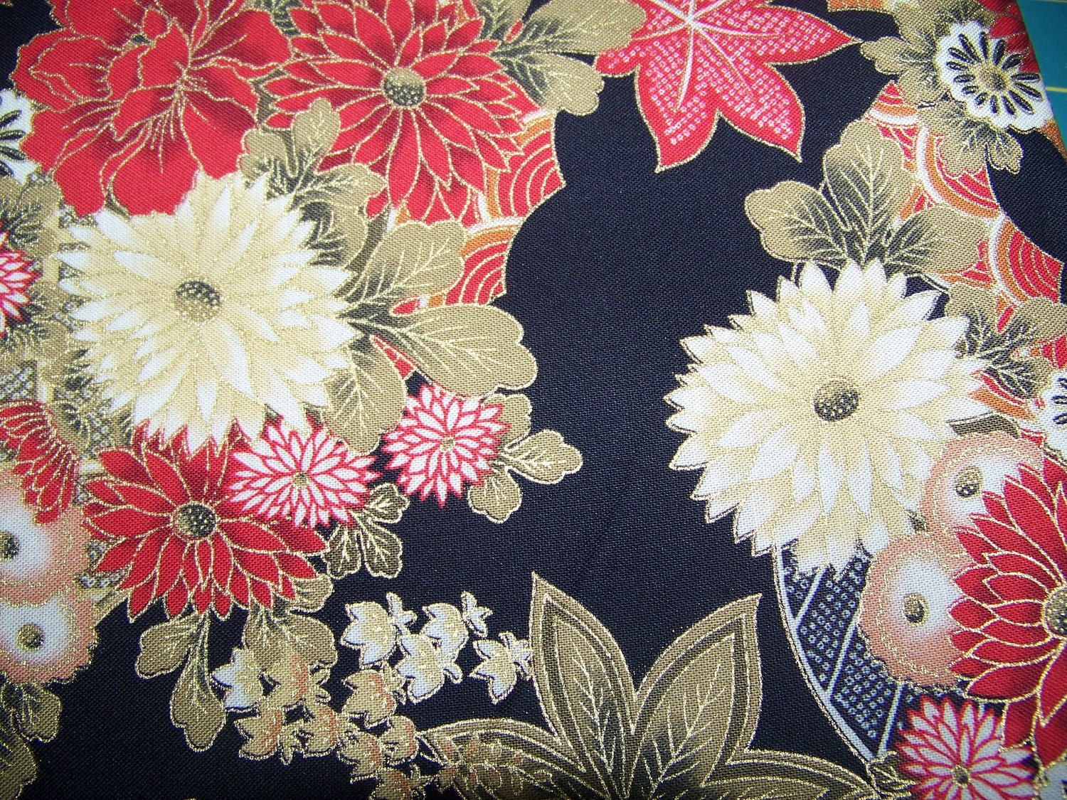 Fabric Oriental Print By Quilt Gate