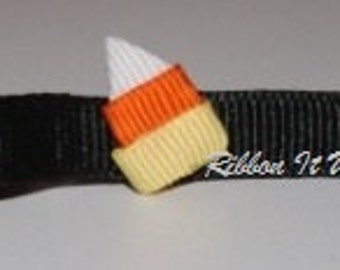 Candy Corn Hair clip