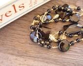 Tres Chic Onyx Bracelet