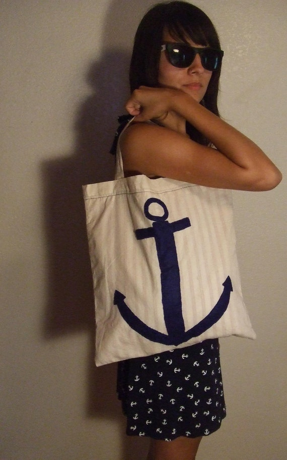 Canvas Anchor Tote