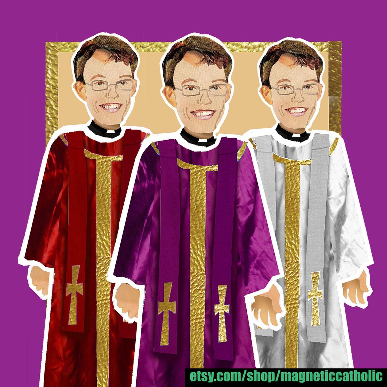 Roman Catholic Priest What do they Wear by magneticcatholic