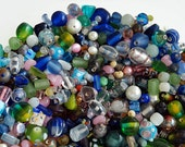 Fabulous bead grab bag - glass, millifiori, foil, vintage and more