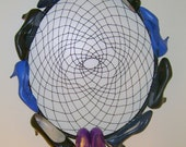 OOAK recycled shoes dream catcher CUSTOM made for you shoe lovers delight with a message to regretsy