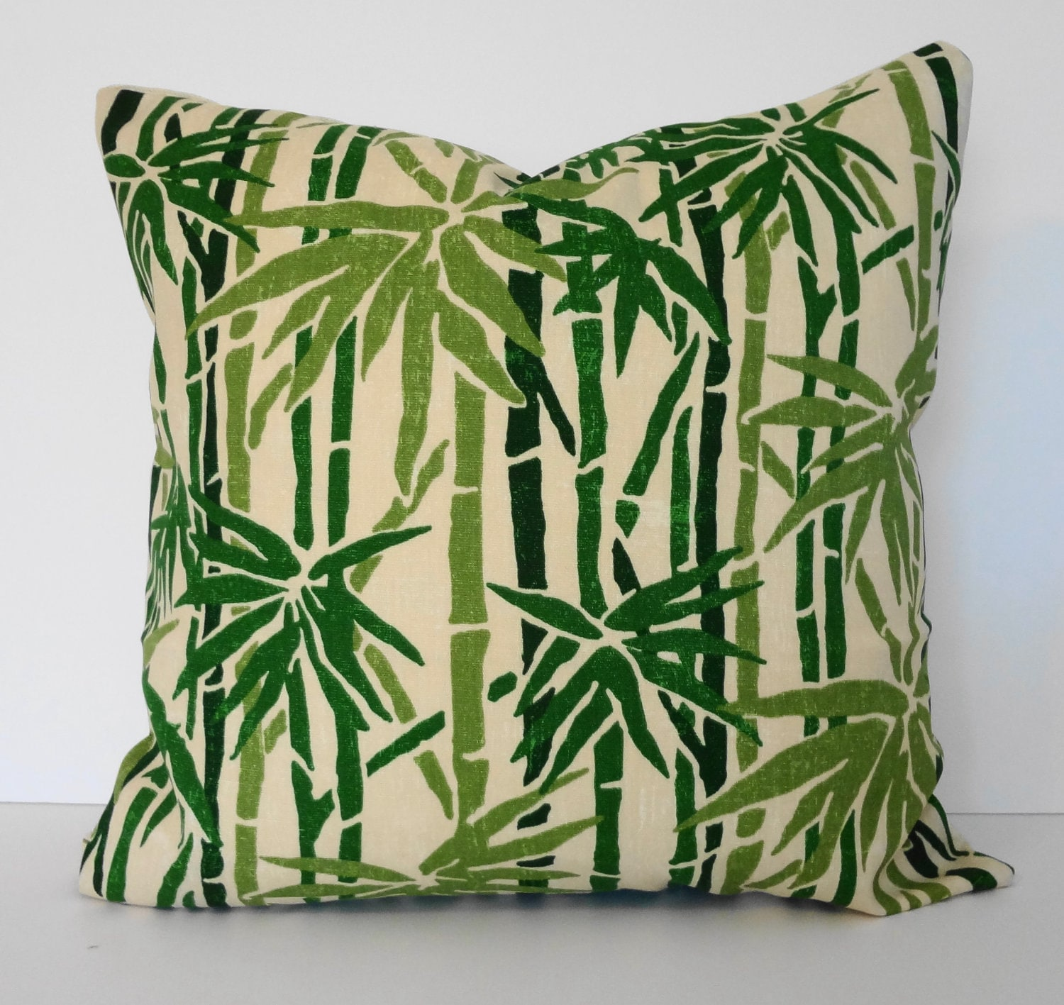 Decorative Pillow Palm Tree : Green Palm Trees Decorative Pillow Covers Duralee Fabrics