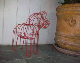 Dala Horse Sculpture