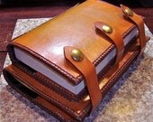 Alcoholics Anonymous Leather Big Book and 12 & 12 Book Cover