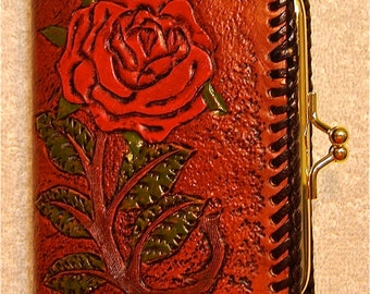 Handmade Leather Women's Wallet