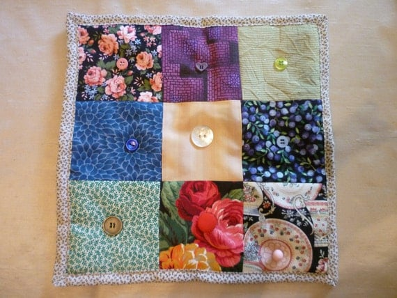 Family Themed Quilted Prayer Cloth - Standard