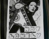 Not Lonely - Issue 3 - Personal Zine / Perzine