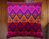 knitted pillow cover