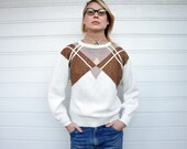 Vintage Geometric Pattern Sweater