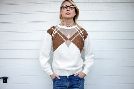 Vintage Geometric Pattern Sweater