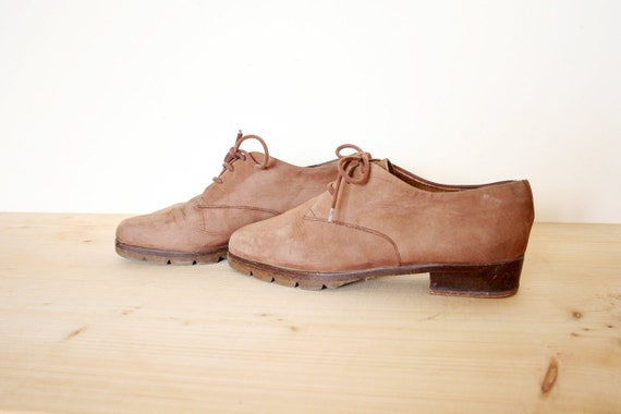 Vintage Marc O'Polo Suede Lace Up Oxford Shoes Size 6.5