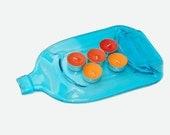 Slumped Bottle / Flattened Bottle /  Snack Plate / Spoonrest