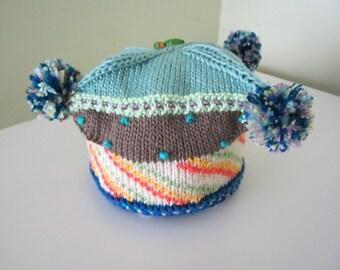 Knitted  baret
