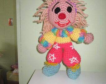 Crochet little  clown