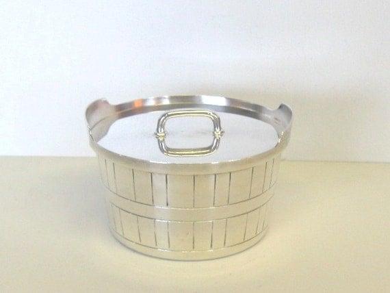 Vintage Gorham Butter Dish, Silver Plate Butter Tub