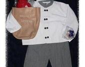 Complete Customizable Little Chef Suit