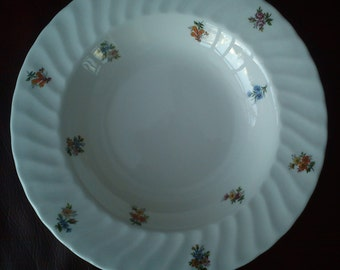 Vintage Fine Bone China Blenheim Flowered Bowl