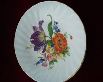Vintage/Shabby Chic Royal Kendal Iris pin dish