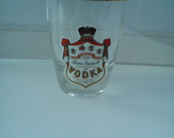 Vintage Smirnoff Vodka Shot Glass