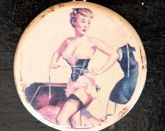 Ronnie Sue Pin-Up Pendant by Heather Wynn Millican